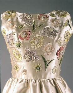 ivory embroidered evening dress f kennedy
