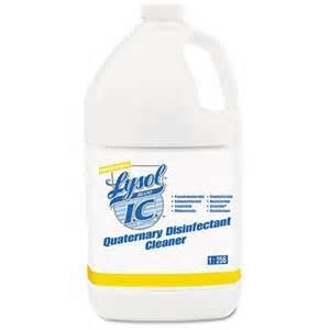 lysol 174 i c quaternary disinfectant cleaner