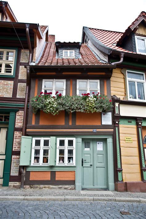 Kleinstes Haus Von Wernigerode Foto & Bild Deutschland