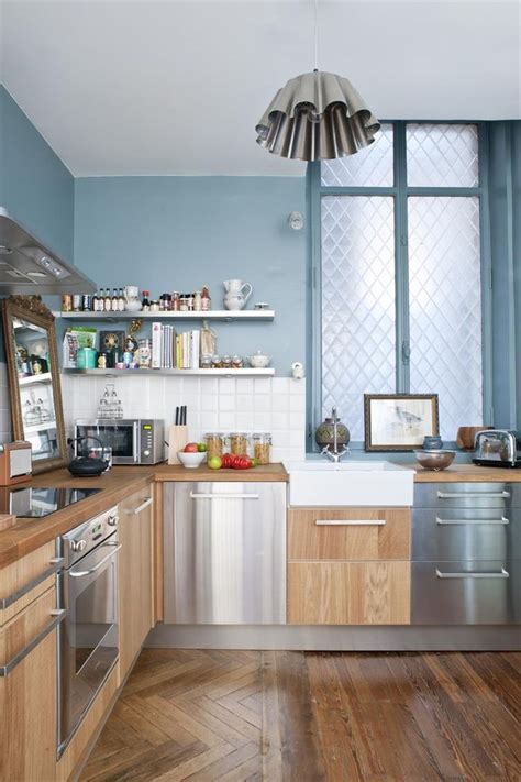 cuisine bleu clair 1000 idées sur le thème cuisines bleu clair sur