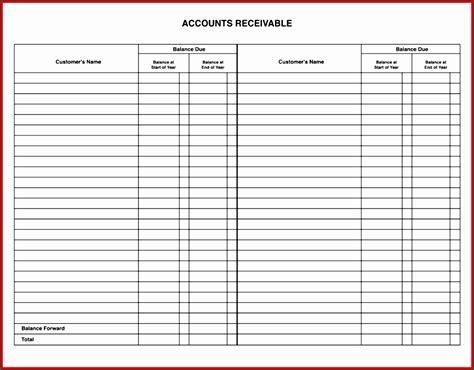 8 Bookkeeping General Ledger Template