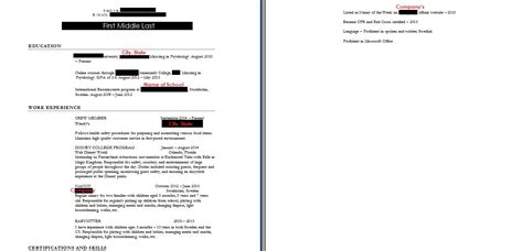 How To Condense Resume Into One Page by Resumes