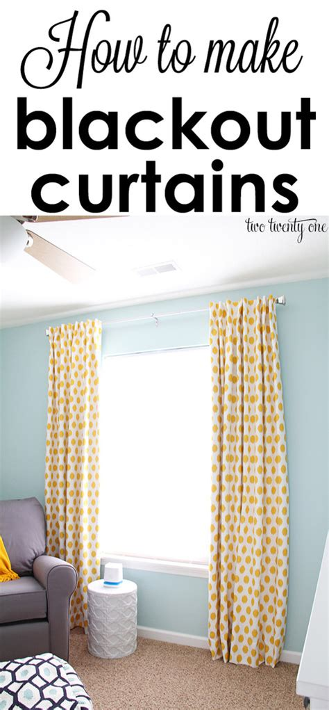 How To Make Drapes Without Sewing - how to make curtains step by step sewing tutorial