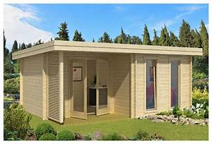 Abri De Jardin Avec Terrasse : maison jardin habitable abri bureau accueil design et ~ Dailycaller-alerts.com Idées de Décoration