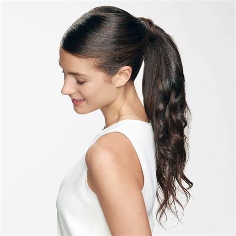 clip  ponytail hair extensions perfect locks