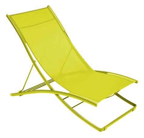 chaise pliante plein air reclining chair foldable 2 flecked