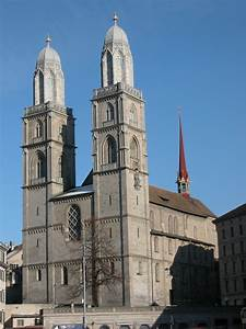 Grossmunster, Zurich (Illustration) - Ancient History ...