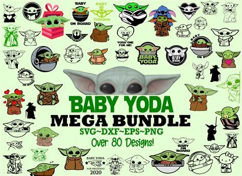 Clip art transparent png, baby yoda svg cut file. Baby Yoda Mega Bundle, SVG, DXF, PDF, PNG - SVG Direct