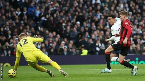 Tottenham Hotspur 3-2 Bournemouth: Mourinho praises Alli ...