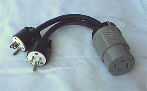 adapt  generator cord adaptor