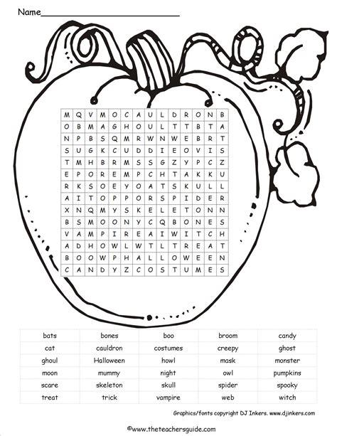 images  pumpkin word search printable printable