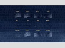 Wallpaper Calendars for 2018 61+ images