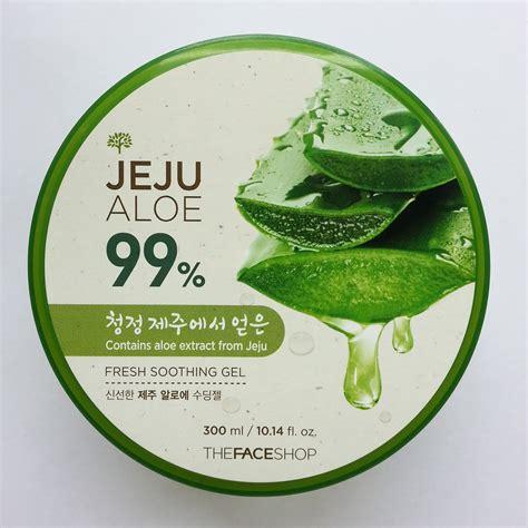 Harga The Shop Jeju Aloe Fresh Soothing Gel the shop jeju aloe 99 fresh soothing gel review