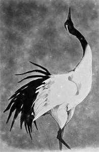 Red Crowned Crane by Puolukkapiirakka on deviantART