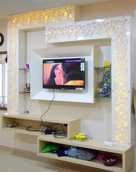 Living Room Lcd Panels by Living Room Tv Furniture Design Unit Small Arrangement