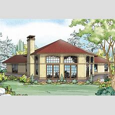 Mediterranean House Plans  Rosabella 11137 Associated
