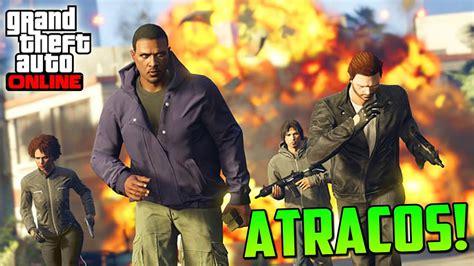 Cause muito caos com o trevor de gta 5. ATRACOS A BANCOS!!! 3 NUEVOS MODOS DE JUEGO!! - Gameplay GTA 5 Online PS4 - YouTube