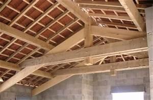 Ferme De Charpente : ossature renovation charpente bois gerboud pierre ~ Melissatoandfro.com Idées de Décoration