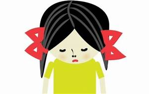 Sad Cartoon Girl - Cliparts.co