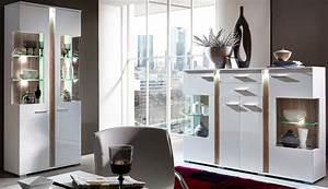 Wohnzimmer Vitrine Weiß : 2er set vitrinen spot vitrinenschrank anrichte kommode wohnzimmer vitrine wei hochglanz sch ner ~ Markanthonyermac.com Haus und Dekorationen