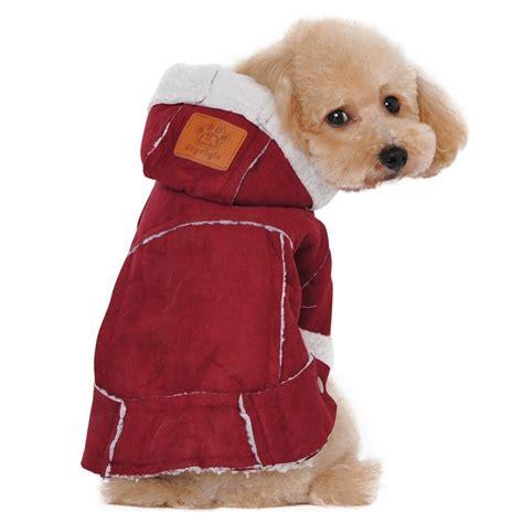 albabara british style cozy dog winter coat pet hooded clothes