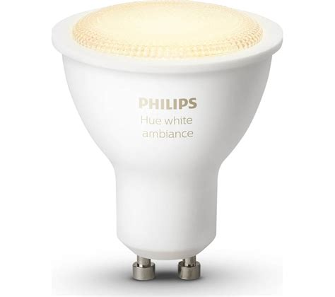 philips hue white ambiance wireless bulb gu10 deals pc