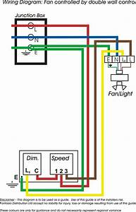 Bathroom Fan With Light Wiring Diagram