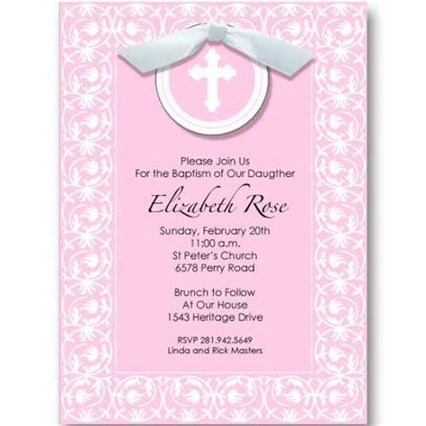 baptism invitation wording  godparents
