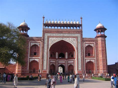 Panoramio  Photo Of Taj Mahal Entrance