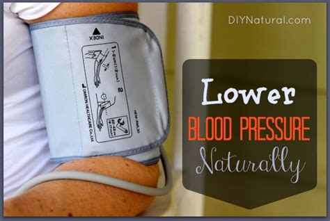 blood pressure naturally    tips