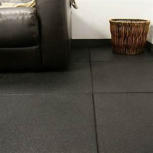 """Eco-Sport 3/4-inch"" Interlocking Rubber Flooring Tiles"