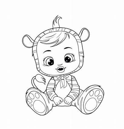 Cry Nala Babies Coloriage Crybabies Colorare Toys