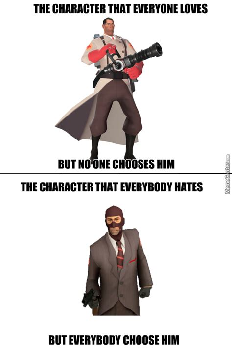 Meanwhile In Team Fortress 2 by doulla - Meme Center