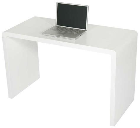 Modern Matte White Computer Desk