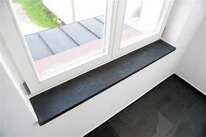 Fensterbank Fensterbnke Fensterbretter Schiefer Negra