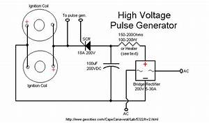ok here is a simple schematic showing my project With high voltage pulse generator circuit together with tesla coil circuit