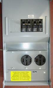 New Rv Power Outlet Box 50 50 2 50 Amp Power Outlets