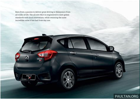 2018 Perodua Myvi officially launched in Malaysia – now ...
