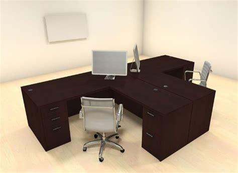 two person computer desk best computer desks for two people computer deskz