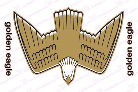 jeep eagle logo jeep wrangler retro golden eagle hood decal kit in full