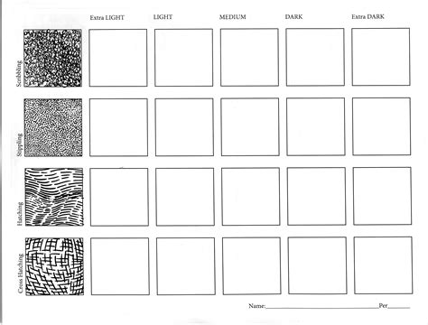 shading exercises worksheets ink value drawing worksheet two with ross