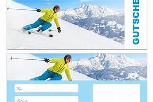 Gutschein Skifahren Vorlage : gutschein skifahren vorlage 20 prozent ~ Markanthonyermac.com Haus und Dekorationen