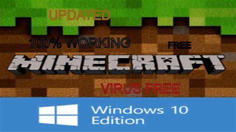 working updated  minecraft windows