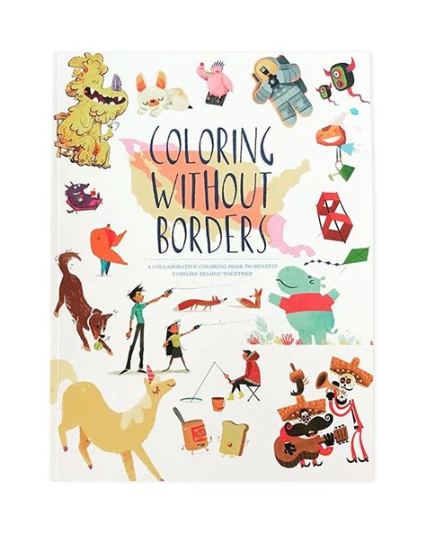coloring  borders coloring book   market