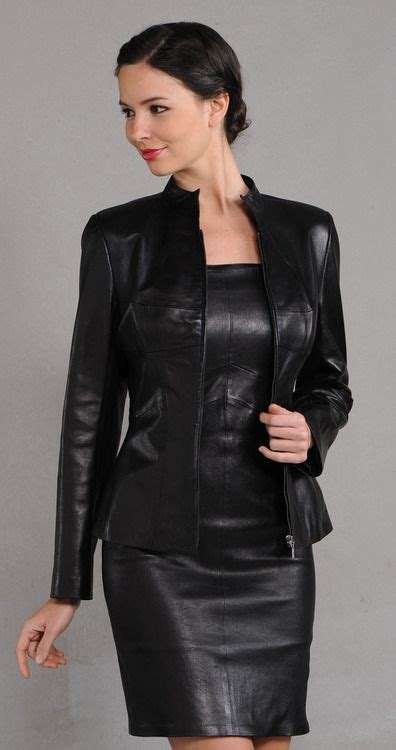 Leather dress | Leather | Pinterest | Beautiful Classy and Leather