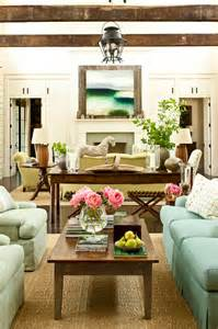 two sitting areas cottage living room sherwin