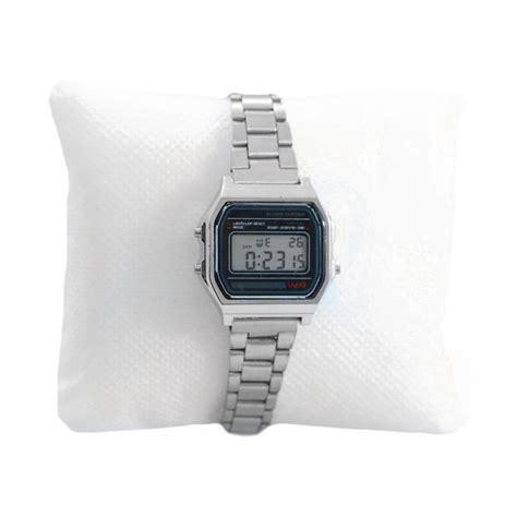 orologio casio piccolo orologio tipo casio piccolo da donna in acciaio argentato