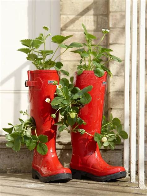 diy shoes planter ideas diy