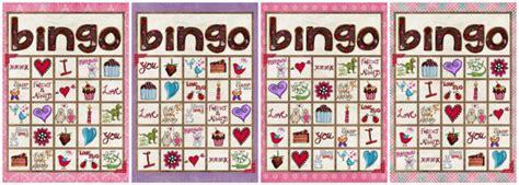 printable valentine bingo