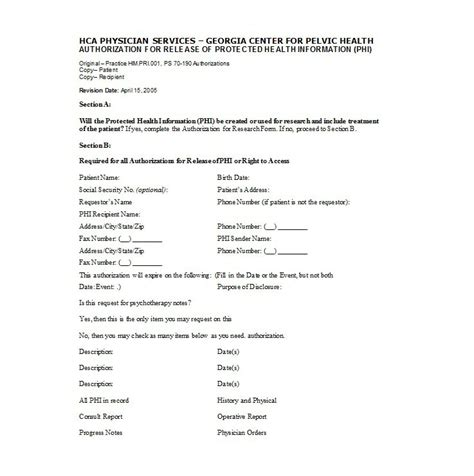 medical disclaimer form 30 medical release form templates template lab